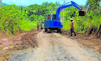 Dawasamu Road Strengthened To Withstand Heavy Vehicles