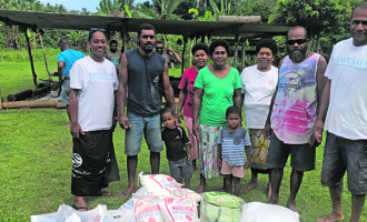 Foundation Brings Cheer To Villages In Savusavu