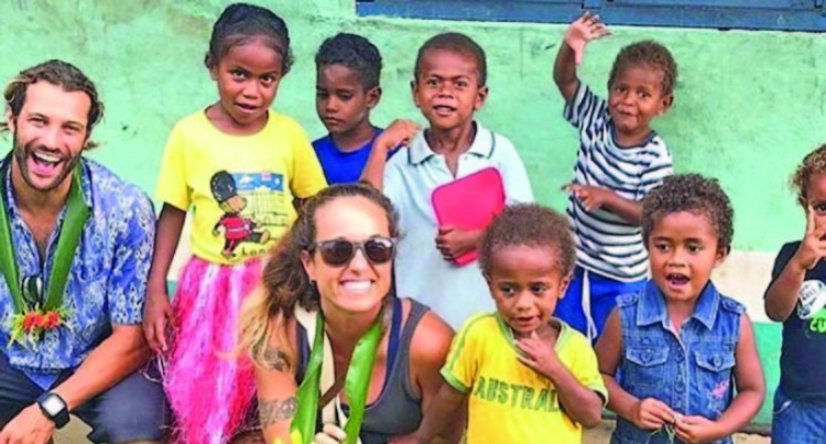 Brazilian Couple's Love For Nature, Environment, Health Extends To Fiji