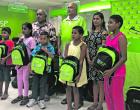 Bank Helps Needy Children With School Packs BSP, FENC