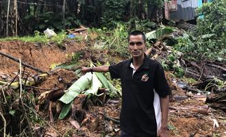 Manoca Residents On Alert After Landslide