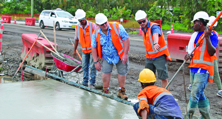 Timely Completion Of Four-Lane Road Project Depends On Weather