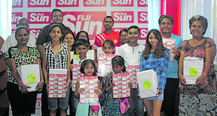 Students Thank Fiji Sun For Help