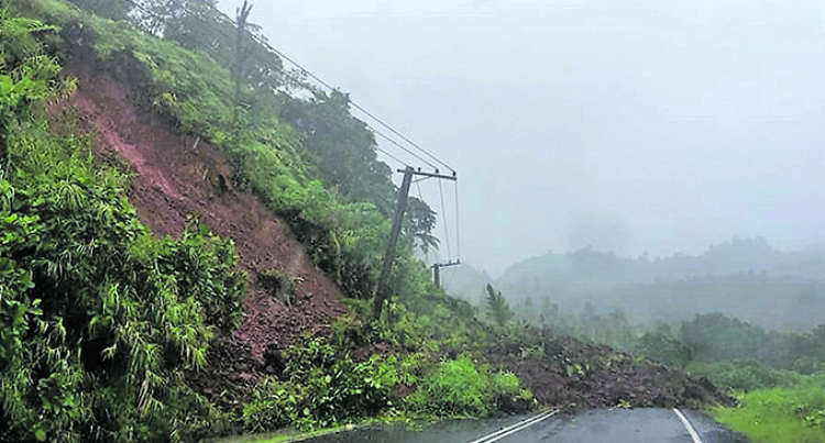 Hazelman Lucky Not To Be Buried in Landslide
