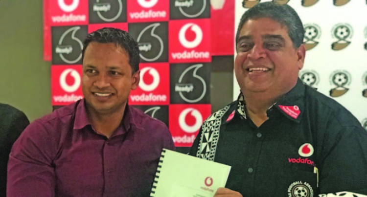 Vodafone, Fiji FA Seal $5.5m Deal