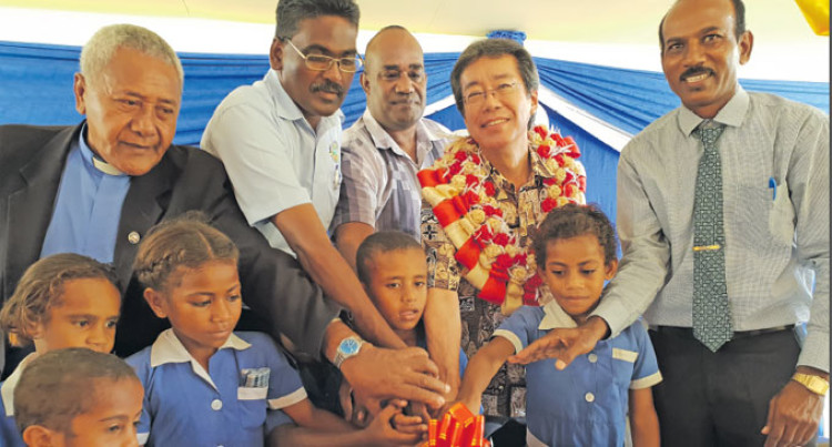 $1.1 Million Classroom Block Ends Days Of Tent Classes