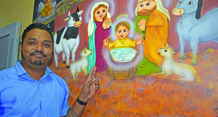 Shiva Shows Youths The Way With Art, Aquariums