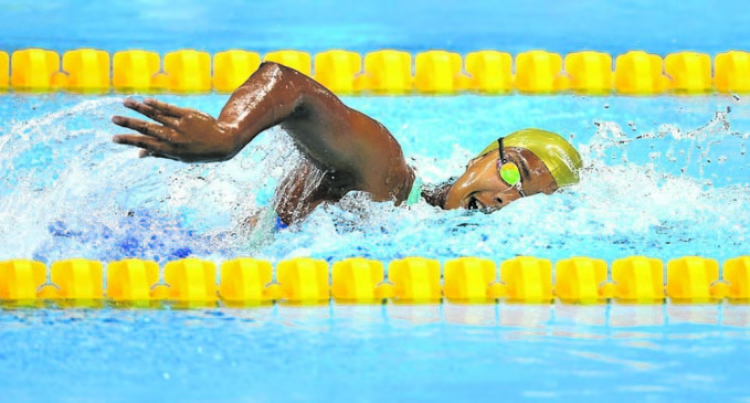 Swimming Preps On Track: Rova