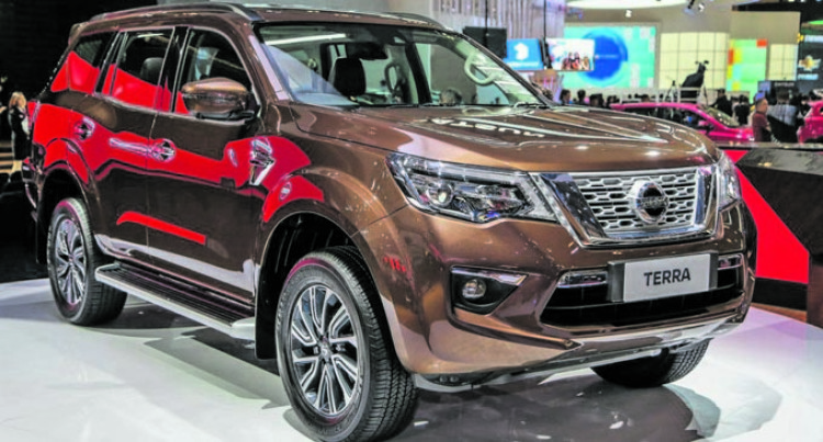 Carpenters Motors New Nissan Terra SUV In The Fijian Market