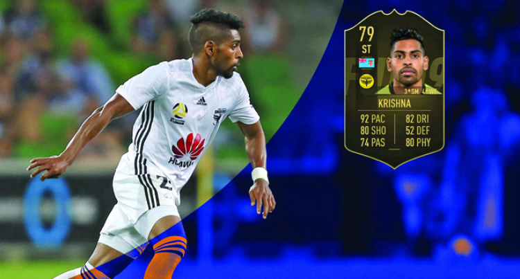 Roy Krishna In FIFA  19's Team Of Week