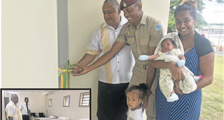 New Quarters, Infirmary For Centres