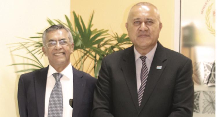 Singapore Envoy Visits