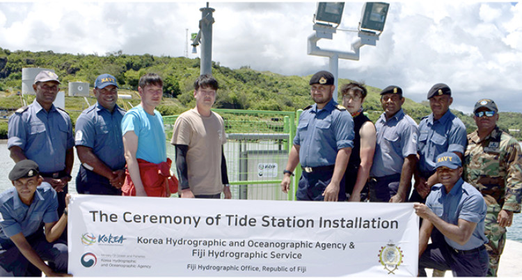 Malau Gets Tide Station