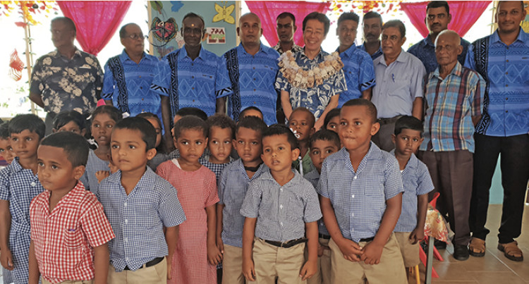 $840,520 Tavua Classroom Block Allows Students Study With Ease