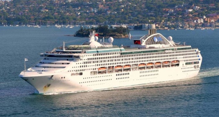 Sun Princess, Last Vessel To Call Into Fiji In 2018