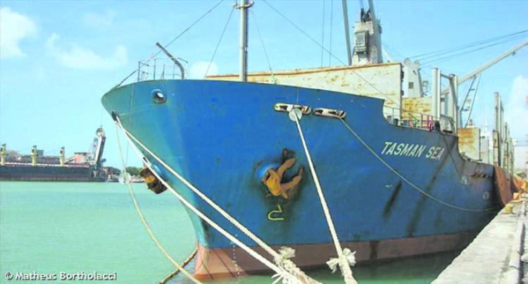 Tasman Sea Brings In Clinker, Work Rolls at Cement Factories