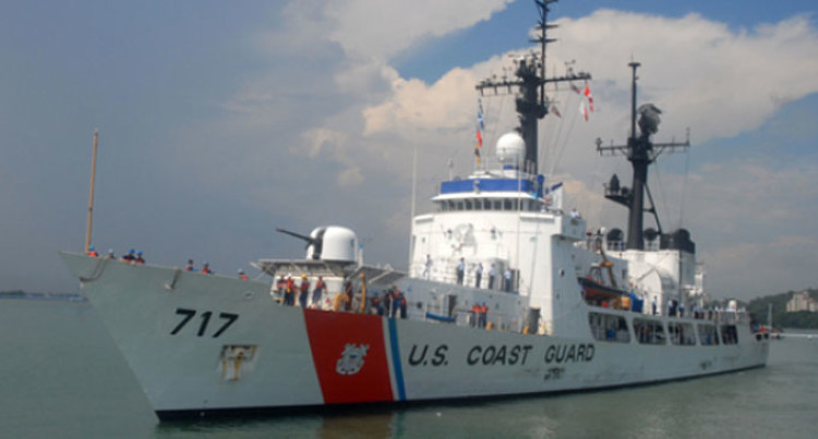 US Coast Guard Cutter Mellon To Arrive Next Tuesday