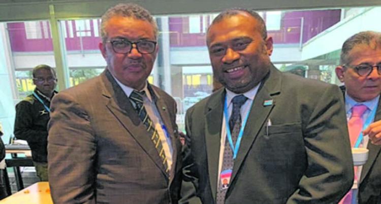 Dr Waqainabete Enhances Fiji's Voice At Global Health Platform