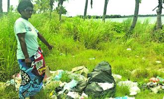 Ali Raises Concern On Dumping Of Rubbish At Beach