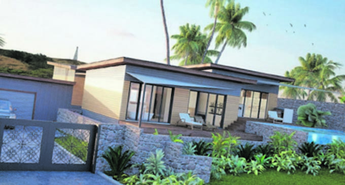 Natadola Model Home Nears  Completion