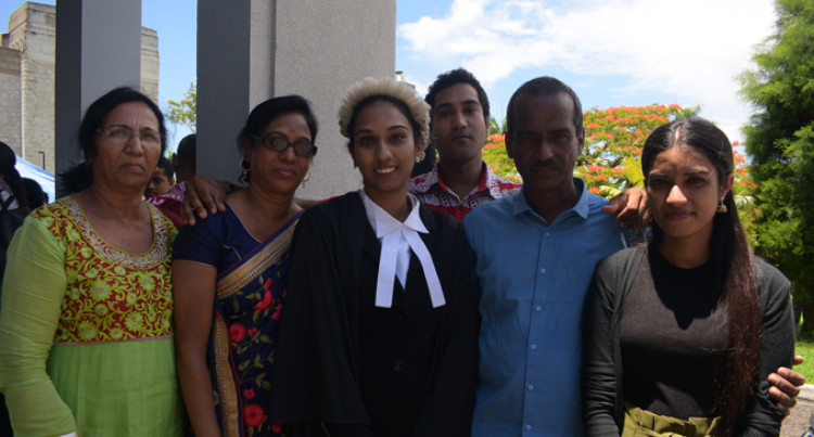 Sharmas Make Sacrifices To Have First Lawyer In Family