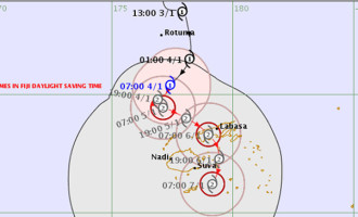 Tropical Cyclone Mona Intensifies to a Category 2 Cyclone