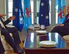 Academic Labels Aust  PM's Visit as 'Unusual'