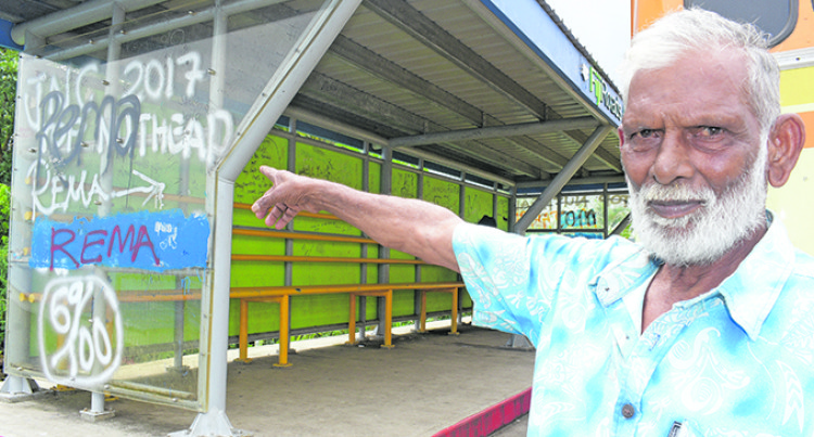 Residents: Those Who Vandalise Bus Shelters Lacks Civic Pride