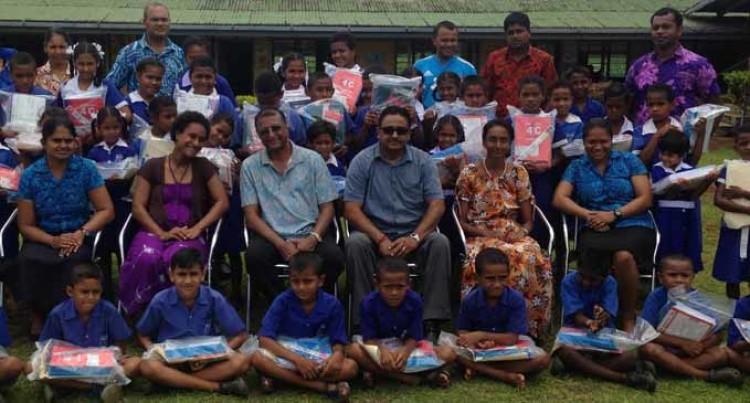 Former Fiji  Citizens Assist Primary Schools