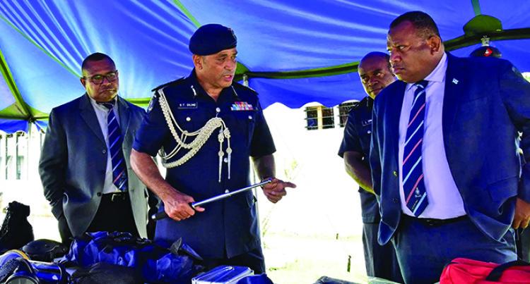 Police Reforms Please Minister Seruiratu