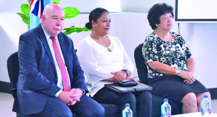 Jenny Seeto Helps Lead  Fiji Directors Course