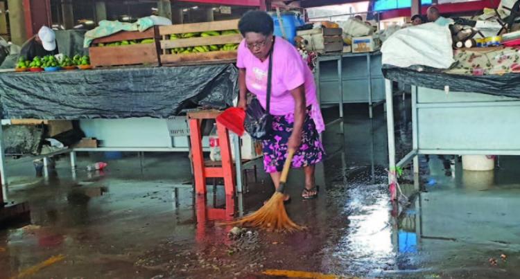 Sewage Spillage Stops Sales