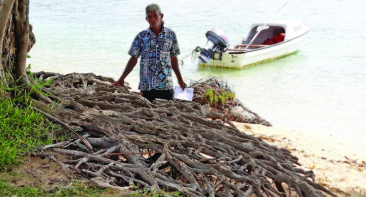 Rising Sea Level Threatens Udu Village
