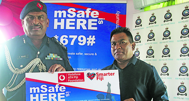 Acting Commissioner of Police Launches mSafe Channel For Public