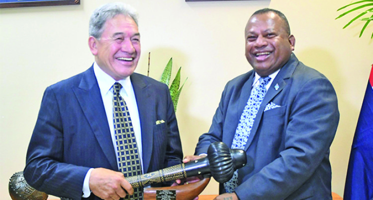 Attorney-General: Peters Visit Sign Of Growth