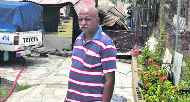 Banaras Fire Leaves Family Homeless