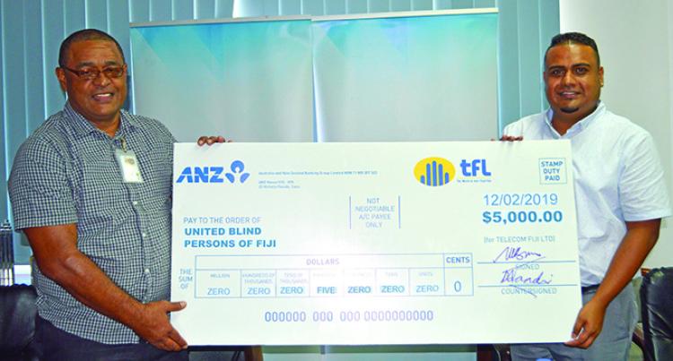 Telecom Fiji Supports Disability Awards