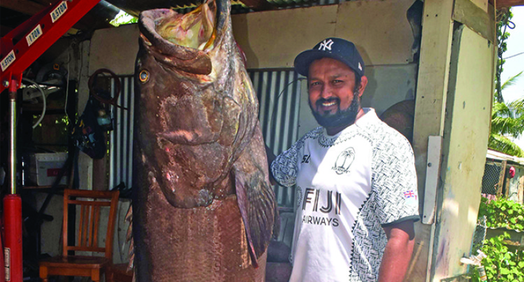 Nadi Fisherman Caught By Surprise With 200 Kilo Kawakawa Catch