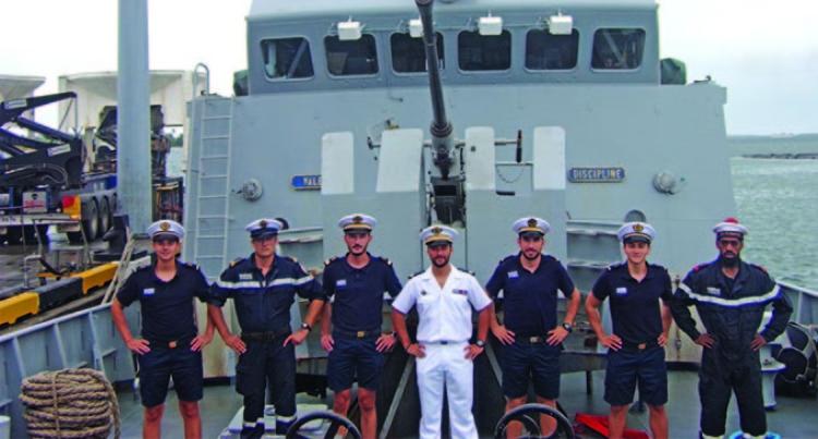 French Vessel Docks In Lautoka