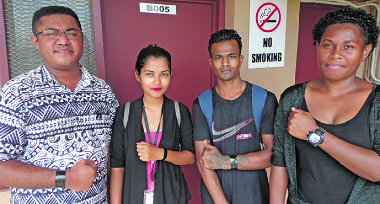 Uni Fiji: Students Wear Black Arm Bands, Demand Probe