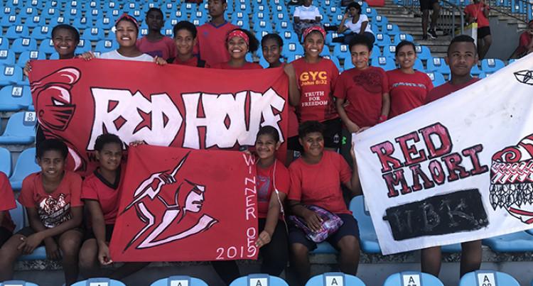 Nakasi High School: Red House Tops Interhouse