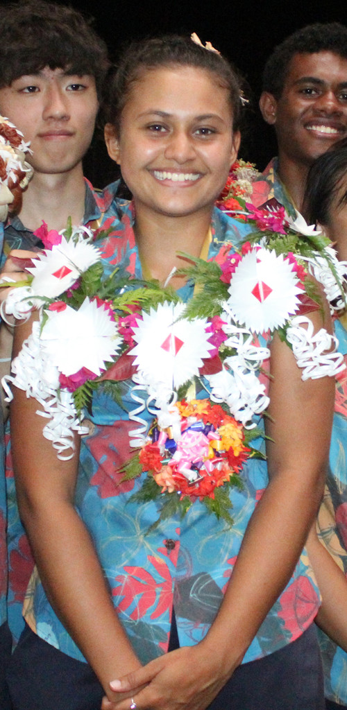 Emily Gibson  after the International Secondary School leaders induction at the school on February 22,2019.Photo:Simione Haravanua.