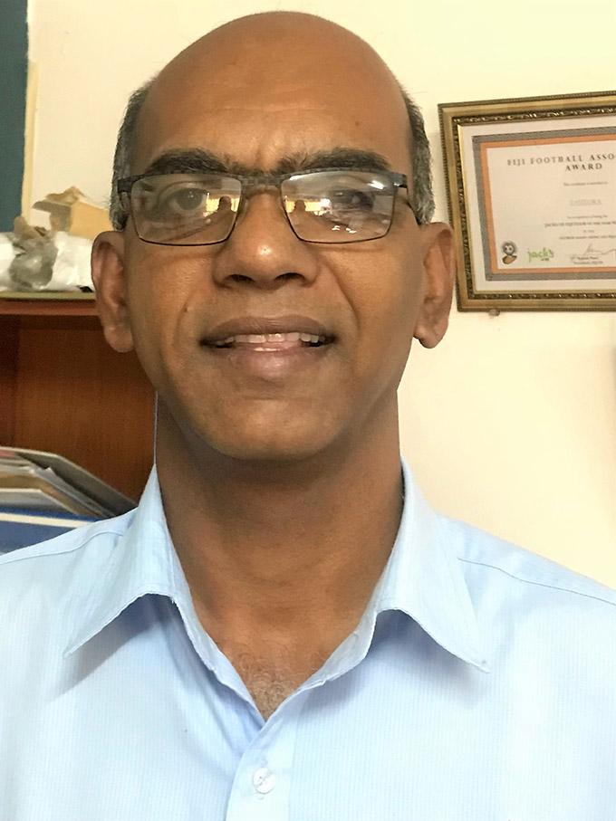 Lautoka FA president Abdul Kadar