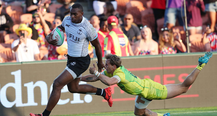 Fiji Airways Fiji 7s Player Mesulame Kunavula Wanted