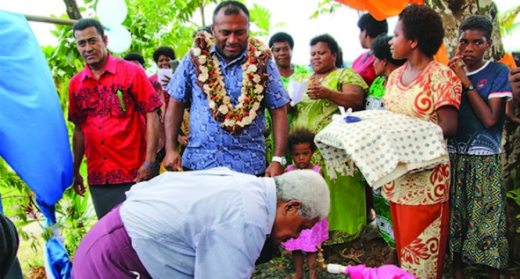 Minister Opens Water Project