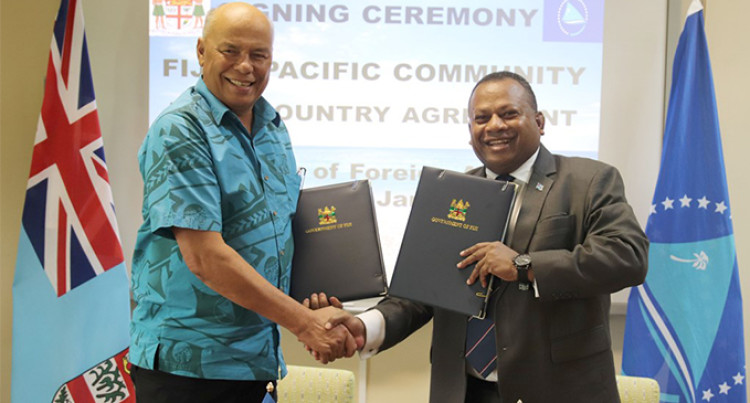 Fijian Government Enhance Collaboration With Pacific Community (SPC)