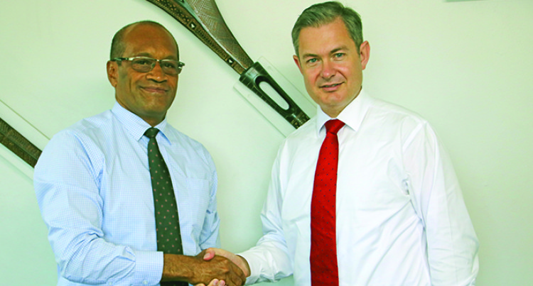 Curr Pays Courtesy Call To Minister Usamate