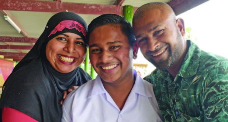 Proud Parents Celebrate With School