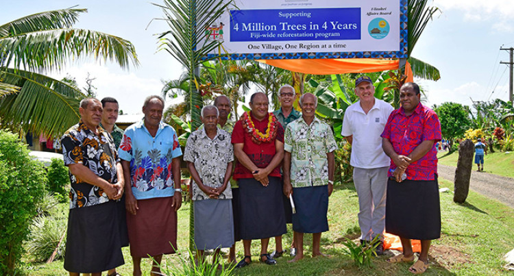Fiji Minister for Forests Launches 4 Million Trees In 4 Years Initiative