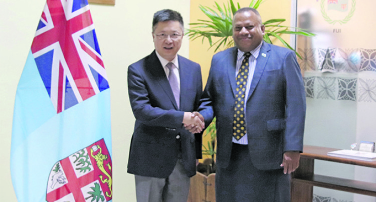 China: Fiji Diplomatic Ties Reaching To Greater Heights